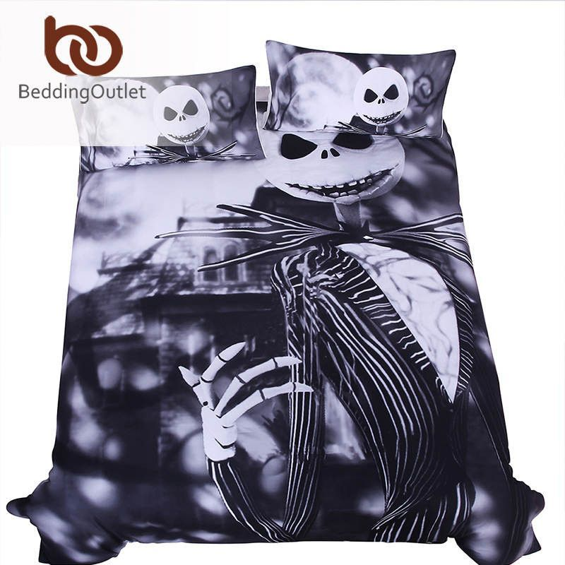 Cool Nightmare Before Christmas Gifts: Bedding Set Nightmare Before Christmas Gift Home Cool