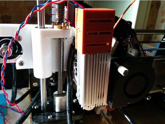 Impresora 3D A8 Anet grabador del laser Mod por lokster