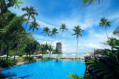 Krabi Thailand Centara Hotels And Resorts Grand Beach Resort Villas