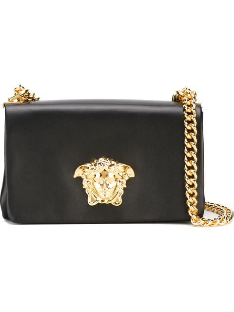 21983c7ad46f VERSACE Medusa Shoulder Bag.  versace  bags  shoulder bags  leather ...