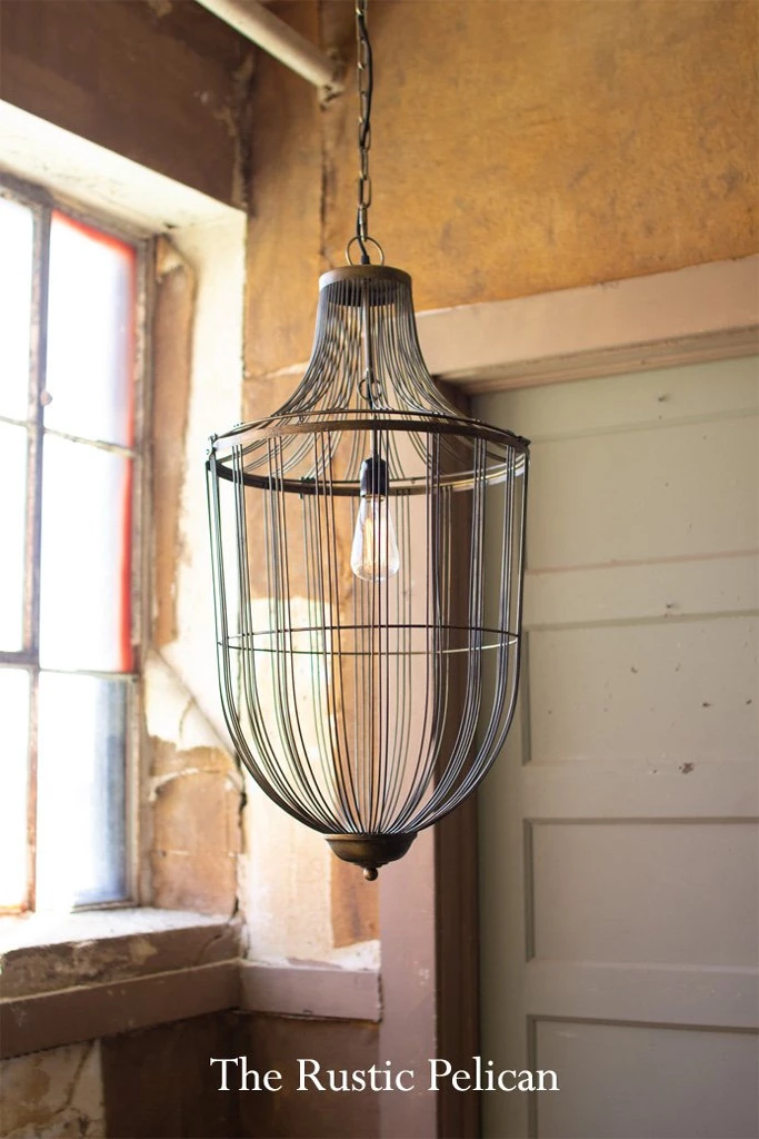Modern Chandeliers Farmhouse Style Lighting Fixtures Rustic Pendant Lighting Pendant Light