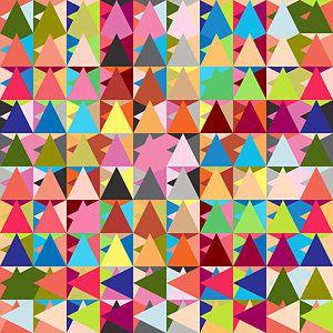 Geometric Digital Art - Abstract Of Colors  by Mark Ashkenazi