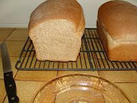 Soft 100% Whole Wheat Sandwich Bread from anoregoncottage.com