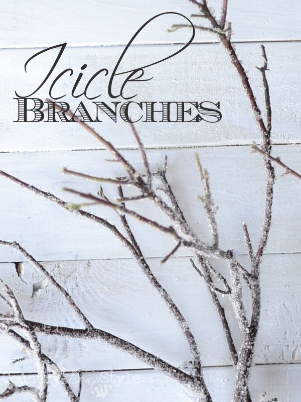 Photo of Icicle Branches | Country Design Style