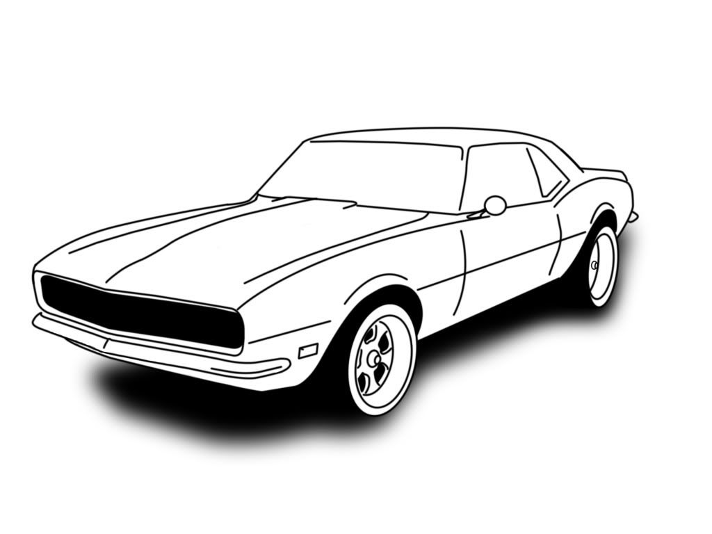 67 camaro sketch - Google Search | Rooms | Pinterest
