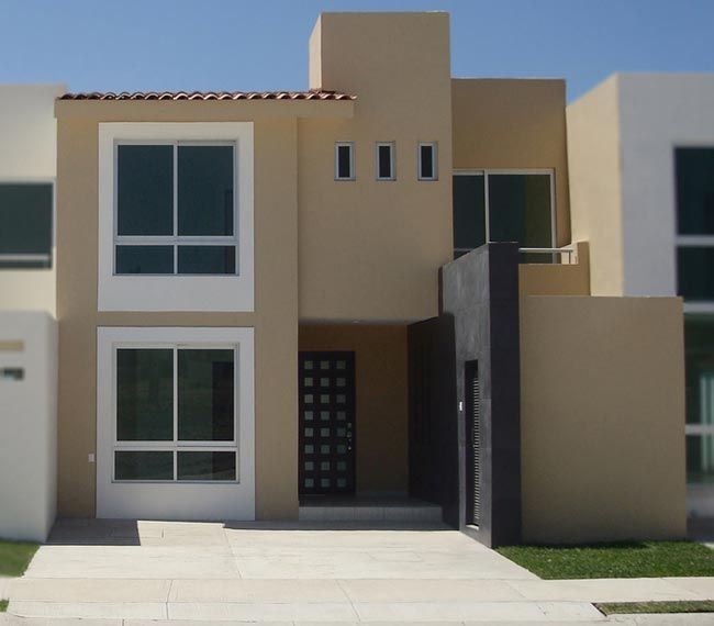 Pin de carlos ortiz en decoracion fachadas casas for Casa minimalista fraccionamiento