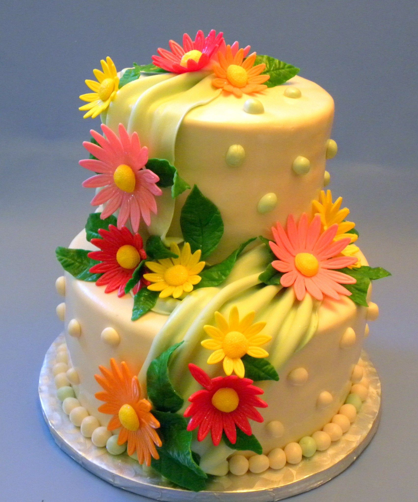 27 brilliant picture of birthday flower cake