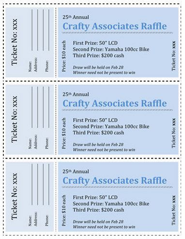 In case I ever need to plan a raffle or something Fundraising