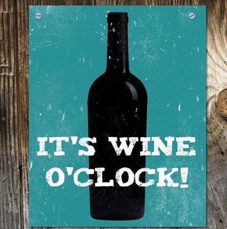 It's wine time!