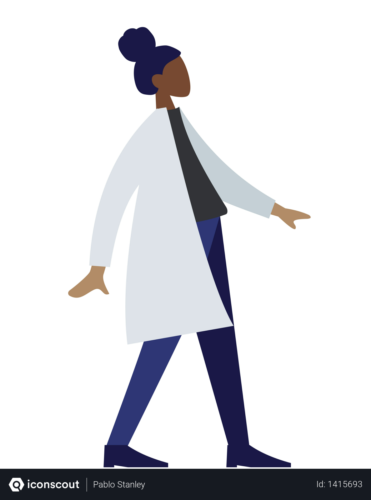 Free Lady Doctor Illustration Download In Png Vector Format Medicine Illustration Illustration People Illustration