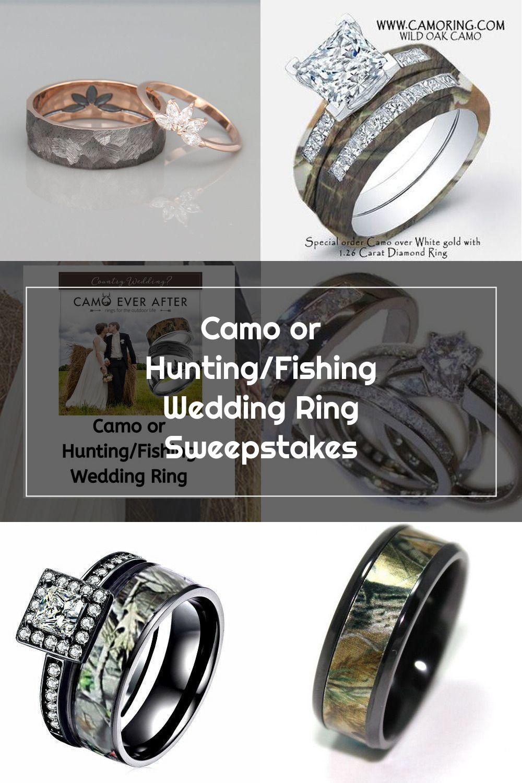 Pin Su Camo Wedding Rings