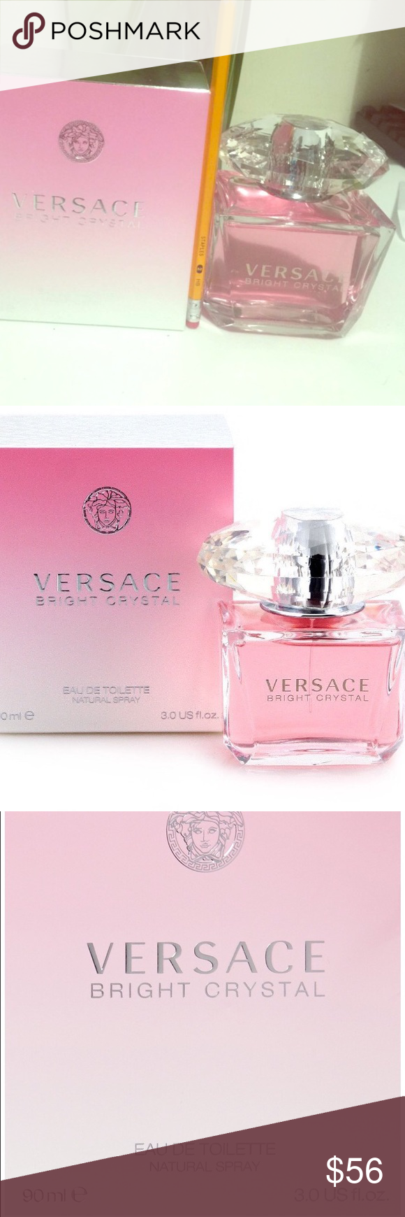 Versace Bright Crystal Versace Bright Crystal By Gianni Versace Versace Other Versace Bright Crystal Crystals Fashion Design