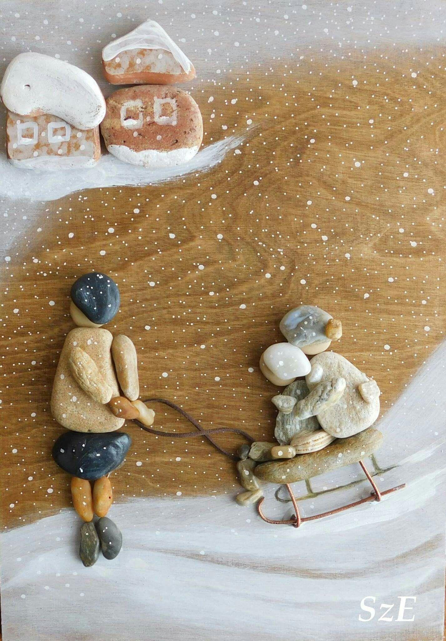 Pin von Sv. in auf Pebble art 1 | Pinterest | Steinbilder, Steine ...