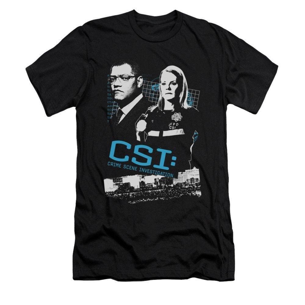 CSI - Investigate This Adult Slim Fit T-Shirt