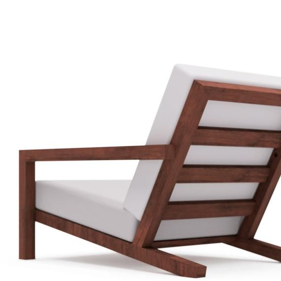 Diy Modern Outdoor Garden Lounge Chair Stool Building Plan Etsy Garden Lounge Chairs Outdoor Chairs Design Chair Design Modern