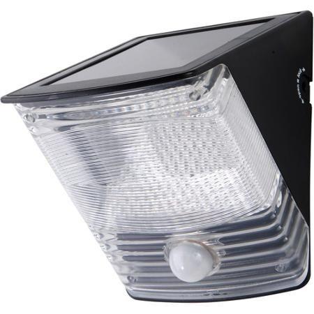 Cooper Lighting Msled100 Floodlight Solar 2led Motn Blk Color Black Walmart Com Flood Lights Led Flood Solar Wall Lights