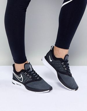on sale 208ab 289ed Nike Running Air Zoom Strike Trainers In Black