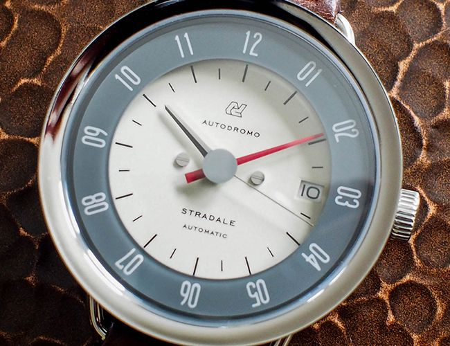 GP checks out the Autodromo Stradale, a fine example of a vintage car inspired timepiece.