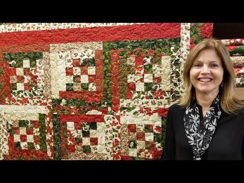 3503 Building Block Log Cabin From A Jelly Roll Youtube Jelly Roll Quilt Patterns Jellyroll Quilts Quilts