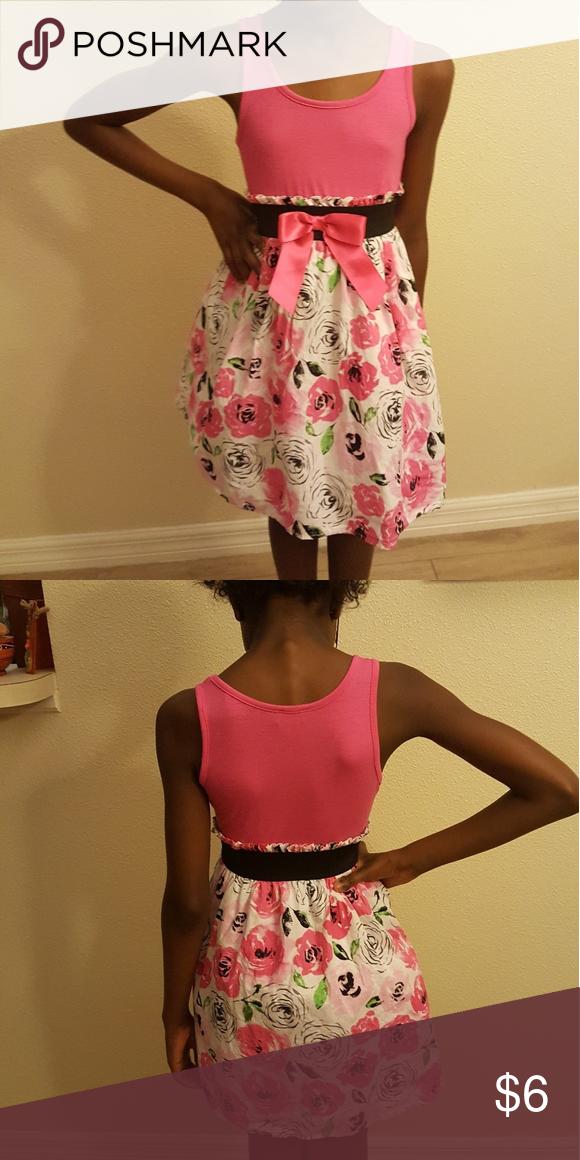 Girl dress floral print Dresses Casual