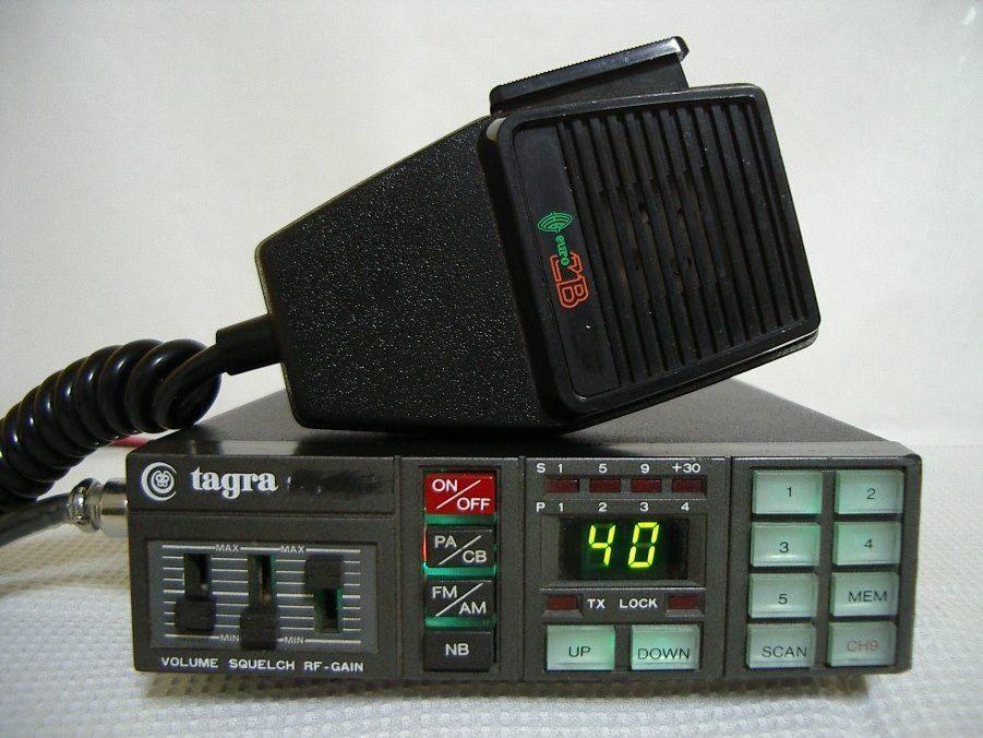 Tagra Scan 40 Ham Radio Cb Radio Cb Radios