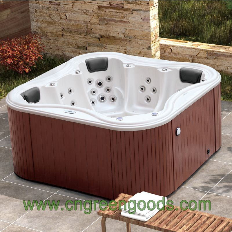 High Quality 5 Persons Massage Spa Outdoor Large Swim Whirlpool Hot ...