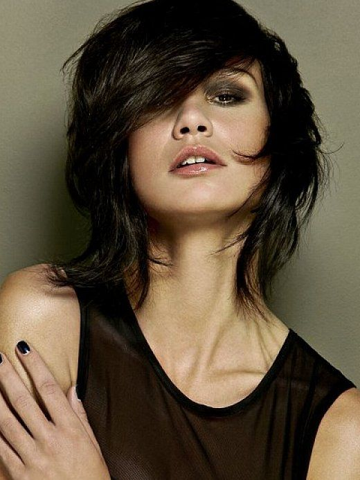 Best shaggy haircuts for fine hair with side bangs | Beauty ...