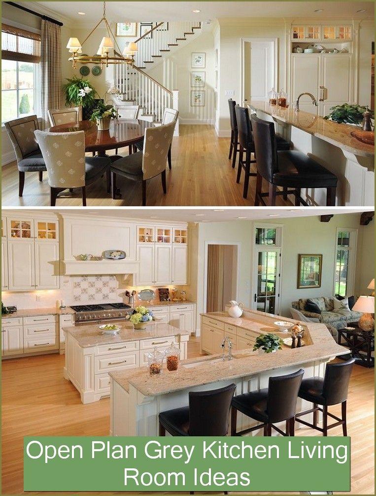 11 Kitchen Living Room Open Concept Design Ideas In 2020 Kitchen Layout Open Concept Kitchen Kitchen Living