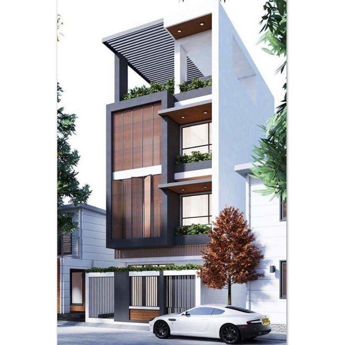 Best Duplex House Elevation Design Ideas India , Modern