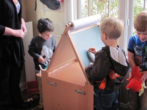 Guidecraft Desk To Easel Art Cart Art Equipment Art