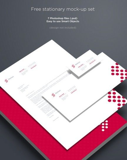 PSD Template LetterheadBusiness Cards Branding and Stationary – Psd Letterhead Template