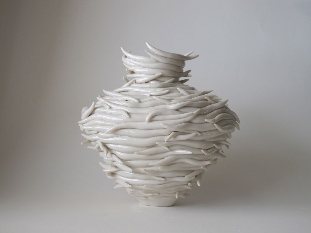 Organic Nature Ceramic Vases