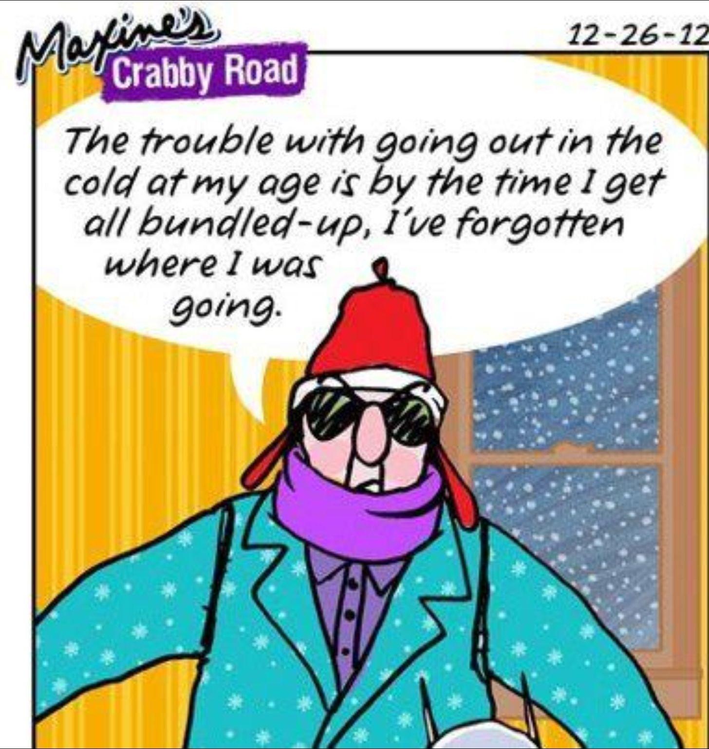 Image result for cartoon figure bundled up against cold