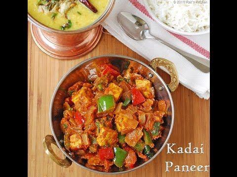 kadai paneer recipe recipes paneer recipes paneer dishes easy paneer recipes on hebbar s kitchen kadai paneer id=53624