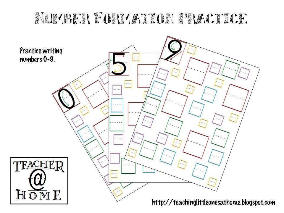 Number formation practice teacherhome number learning and having made a template for letter formation practice pages the next logical step was to create number formation practice pages spiritdancerdesigns Image collections