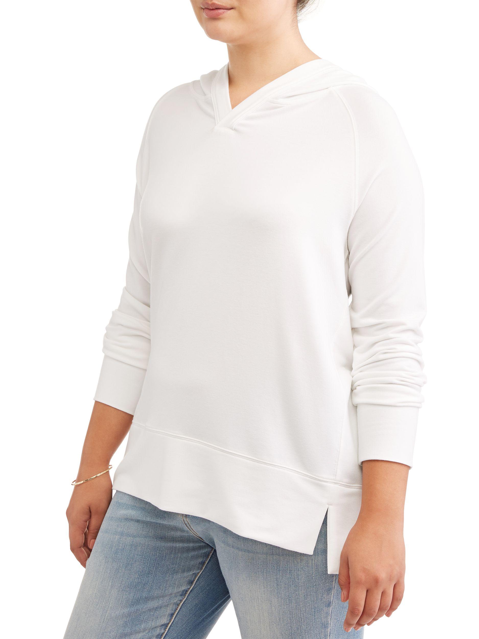 93726077b9c Avia Women's Plus Size Hooded Tunic Sweatshirt#Size, #Women, #Avia ...