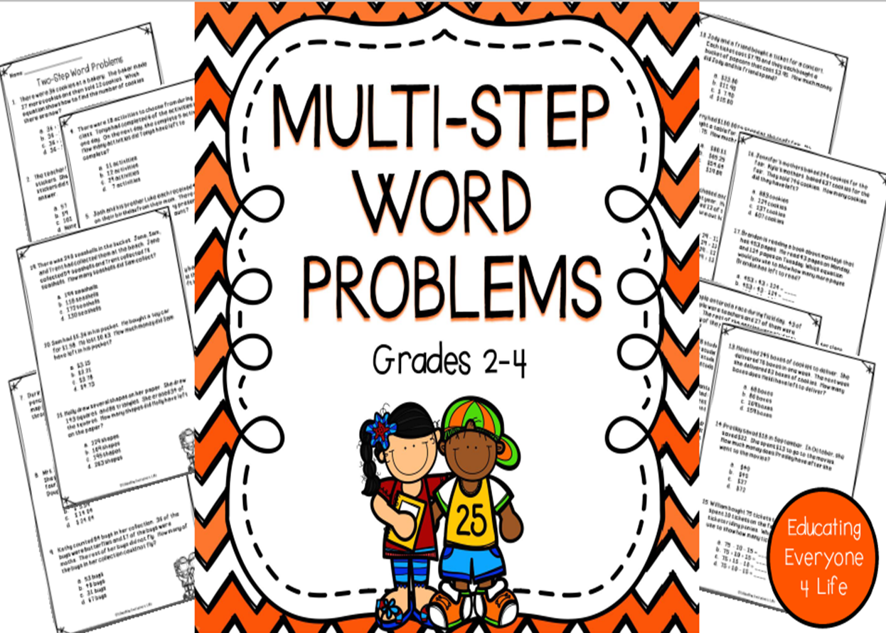 Tips And Tricks For Multi Step Word Problems