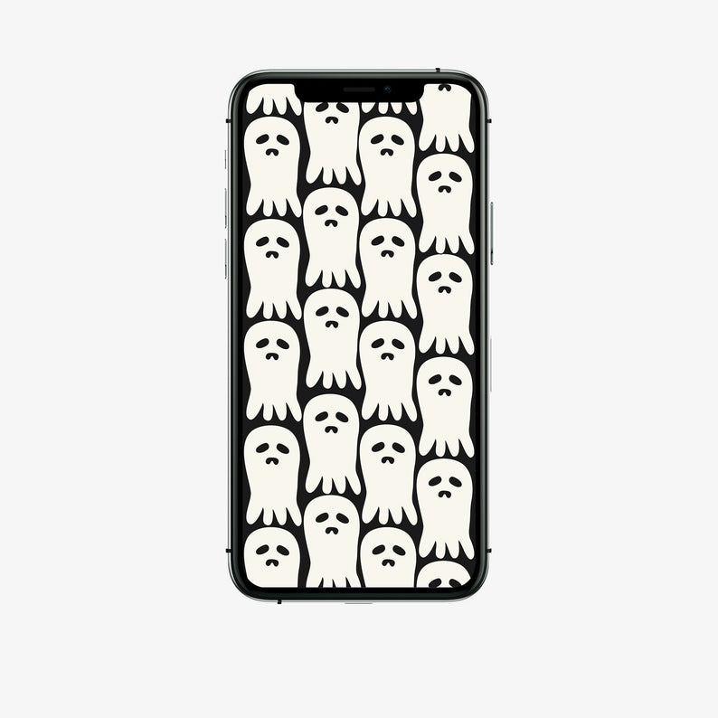 36 Iphone Ios 14 App Icons Pack Spooky Ghosts Aesthetic Etsy App Icon Iphone Icon Pack