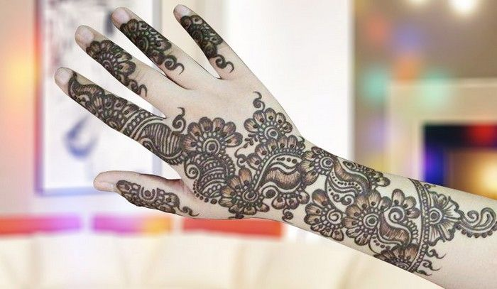 Mehndi Arm Download : Mehndi design for hands free download