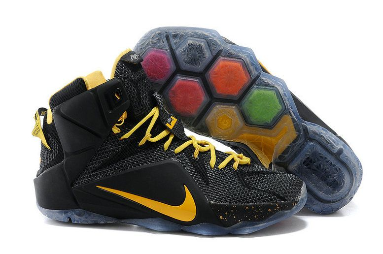 uk availability 97466 da720 ... low price lebron 12 away pe black gold 25ad5 e2475