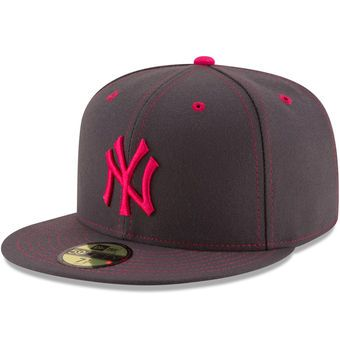 Men's New York Yankees New Era Graphite 2016 Mother's Day 59FIFTY Fitted Hat