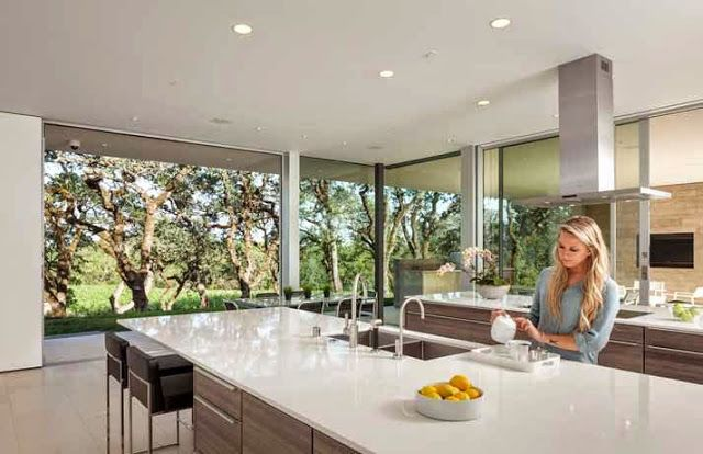 Casa moderna en un viñedo de California //www.arquitexs.com ... on california closet design ideas, california home design plans, california interior design ideas, california garden design ideas,