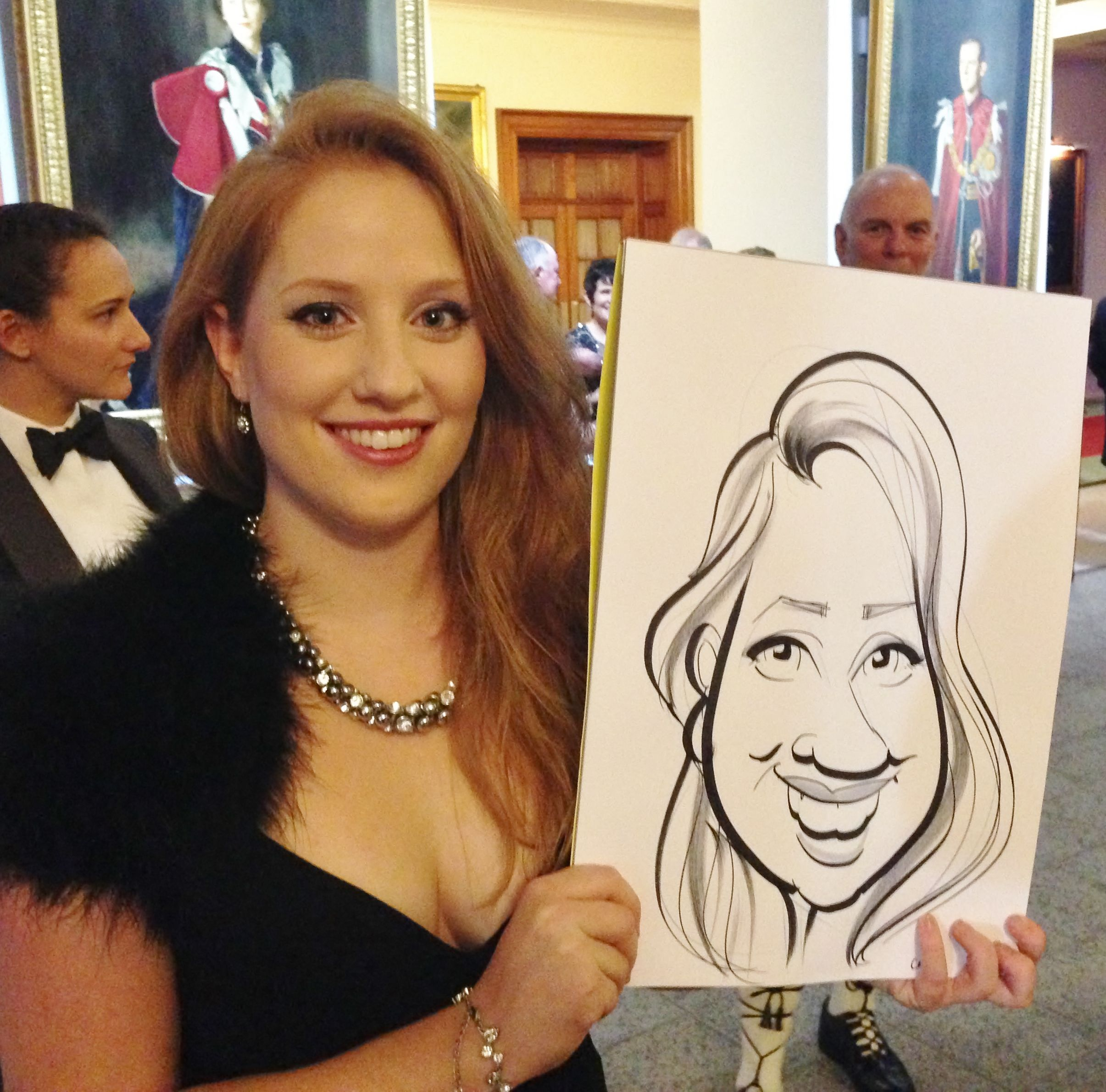 RAF Cranwell Xmas Ball Caricatures (With Images