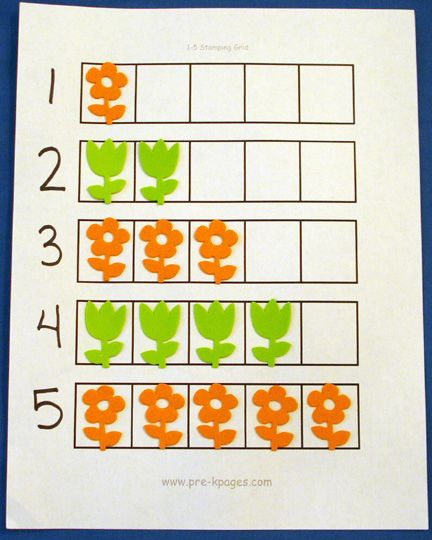 Spring Math Activities | Activities, Plants and Spring