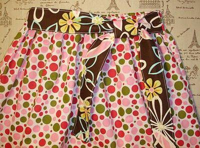 15-minute Girly Skirt Tutorial