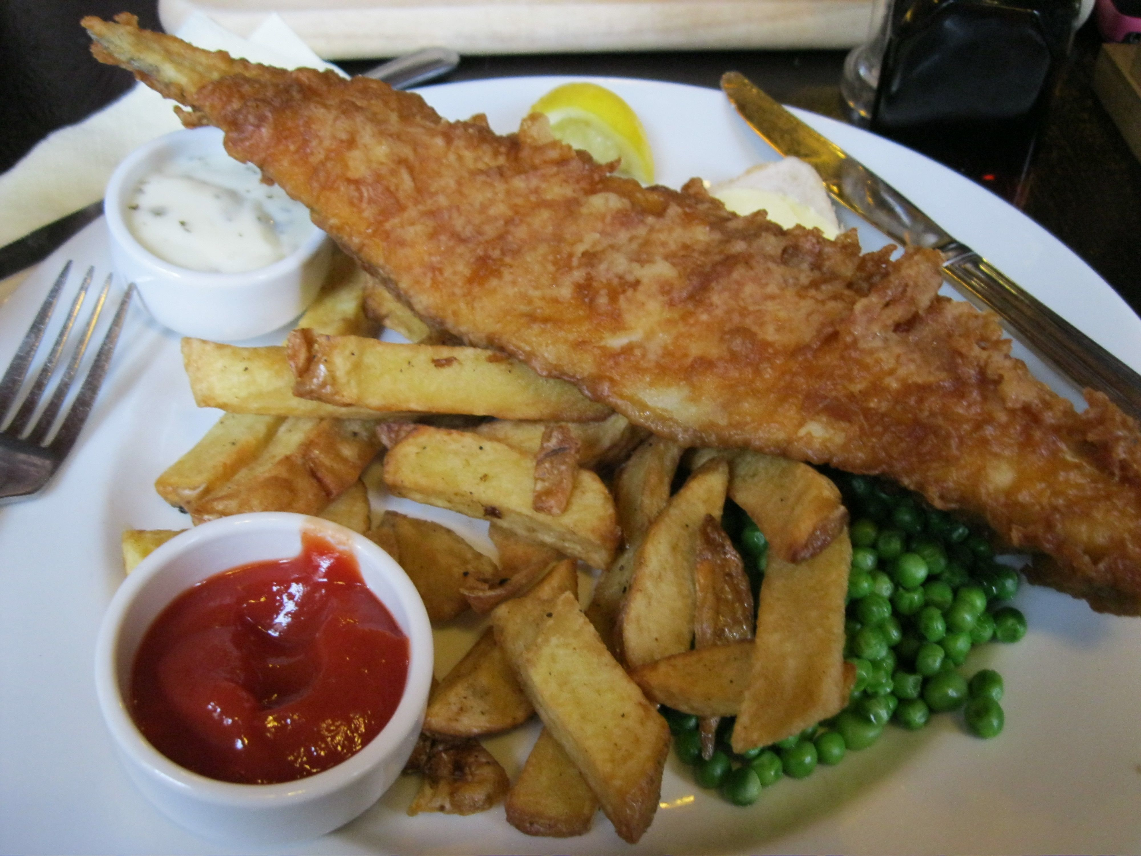 Eagle Pub fish and chips