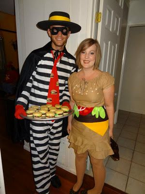 homemade hamburger and hamburglar halloween costumes inspired by pinterest