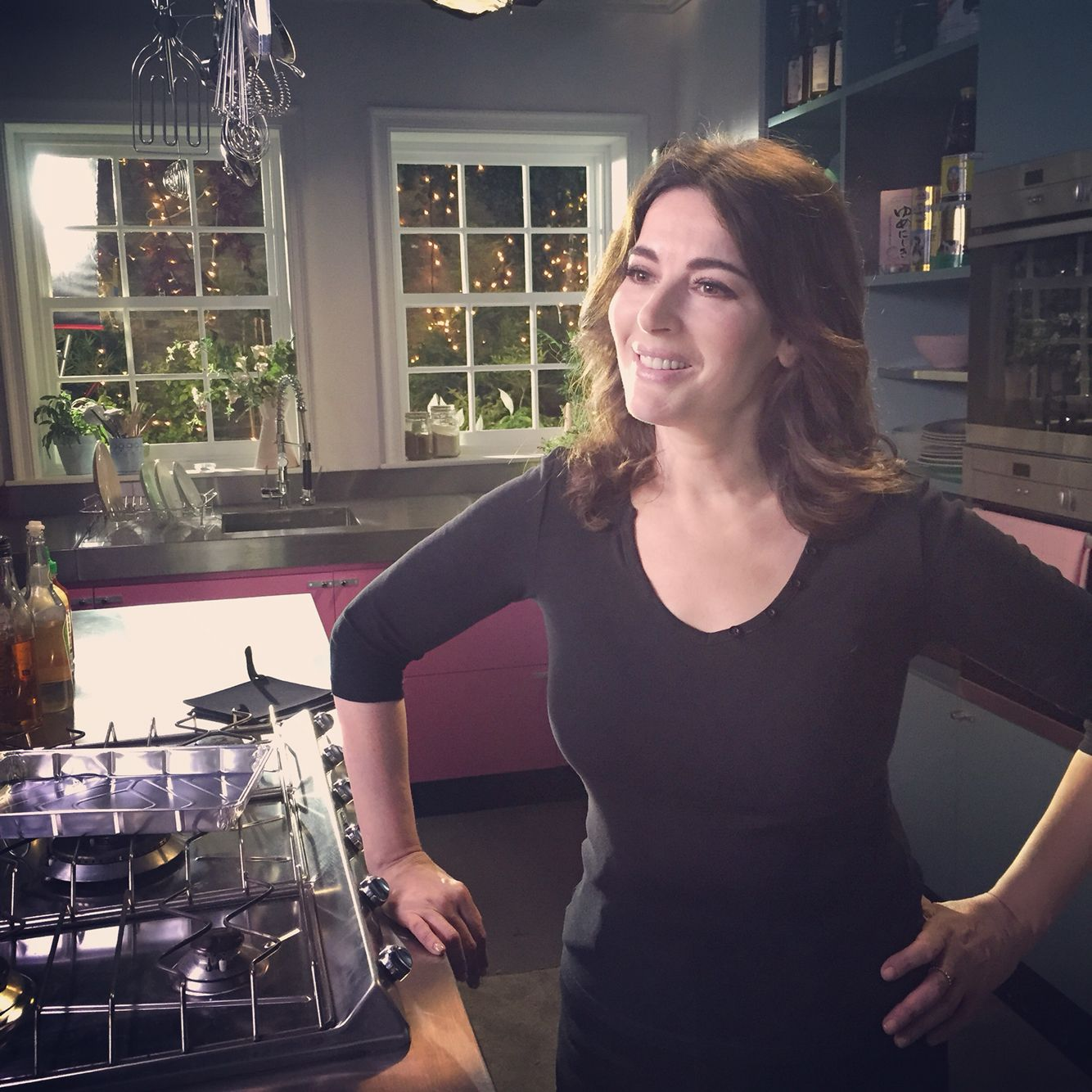 Marvelous Just Finished Week 1 Of Filming Simply Nigella Series! Nigella LawsonPink  KitchensKitchen ...