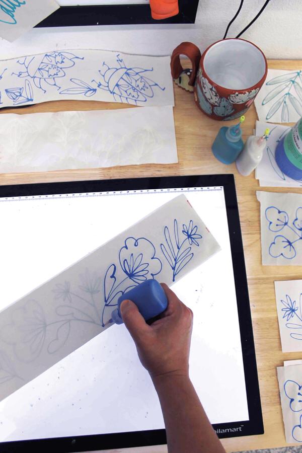 Drawn and Transferred - Ceramic Arts Network