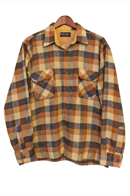 Vintage plaid wool Pendleton jacket size Medium